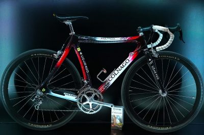 Colnago C35 Carbon, Campagnolo Record Titan, made with Ferrari