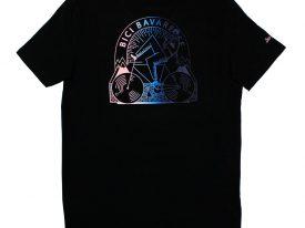T-Shirt – schwarz fade