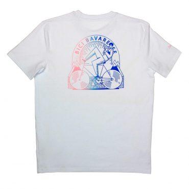 T-Shirt – weiss fade