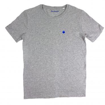 T-Shirt – grau/blau Stick