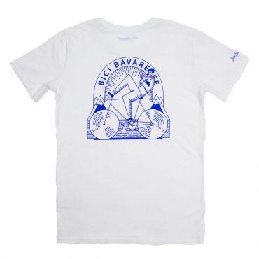 T-Shirt – weiss/blau