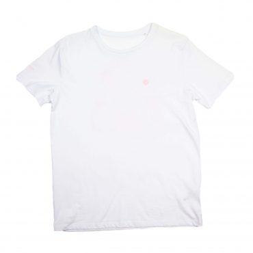 T-Shirt – weiss/rosa